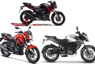 Hero Xtreme 200R vs. Bajaj Pulsar NS200 vs. TVS Apache RTR 200 4V - Spec comparo