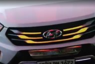 Aftermarket 'Blaze' LED Grille for the Hyundai Creta is a cool party piece