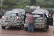 New Mahindra S201 spy shots reveal a bit more of the face [Update]