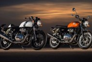 Royal Enfield considered USD forks, alloy wheels & mono-shock for the 650 twins - Report