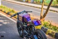 Custom Royal Enfield 'Stardust' café racer by Maratha Motorcycles