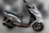 Suzuki Burgman Street spotted in the Matte Grey colour