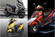 Suzuki Burgman Street vs. Honda Grazia vs. TVS Ntorq 125 - Spec comparison