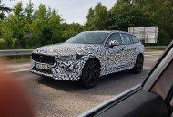 2019 Volvo V60 Cross Country spied testing in Sweden