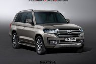 2020 Toyota Land Cruiser - IAB Rendering