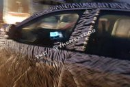 Latest Tata Harrier spy images reveal its floating touchscreen system