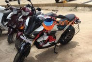 Mahindra Mojo Electric variant spied in India for the first time