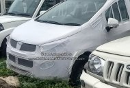 Mahindra Marazzo spotted at a yard, shows its interior