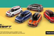 Check out the official Prime Lucent Orange custom Maruti Swift