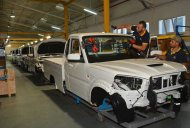 New Mahindra Scorpio Pik-Up hits the assembly line in Tunisia