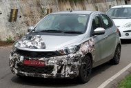 Tata Tiago JTP spied testing on hilly roads again