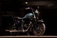 Eimor Customs' Royal Enfield Desert Storm 500 'Allura' is about vintage charm