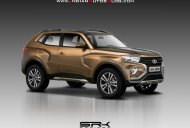 Next-gen Lada 4x4/Lada Niva imagined - IAB Rendering