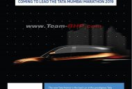 Tata Harrier to lead 2019 Mumbai Marathon as the official pace vehicle
