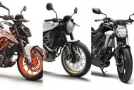 Husqvarna Vitpilen 401 vs KTM 390 Duke vs Honda CB300R: Thoughts From Cycleworld