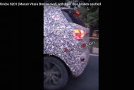 Top-spec Mahindra S201 with rear disc & LED lamp spied testing [Video]