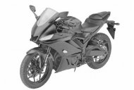 2019 Yamaha YZF-R3 revealed through leaked patent images