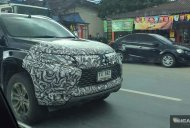 India-bound 2019 Mitsubishi Pajero Sport (facelift) spotted testing in Thailand