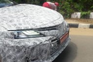 Eighth-gen Toyota Camry spied up close in India