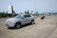 IAB reader spots the Tata Harrier testing on expressway