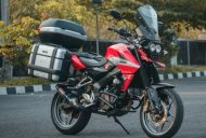 Bajaj Pulsar NS200 transformed into an adventure tourer [Video]