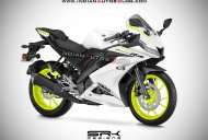 Yamaha R15 V3.0 Competition White - IAB Rendering