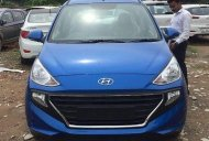 Hyundai Santro spotted in the Marina Blue colour