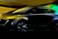 Hyundai Saga compact SUV EV concept teased, will debut in Brazil next month