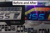 Standard Yamaha R15 V3.0 display modified to colour [Video]