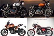 4 motorcycles reportedly coming this November - Royal Enfield 650 to Jawa 300