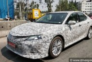 Eighth-gen Toyota Camry spied up close in India [Update]