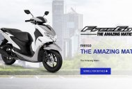Yamaha FreeGo 125 cc scooter unveiled at the Indonesia Motorcycle Show