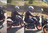 Mysterious KTM Duke motorcycle spied near Pune [Video]