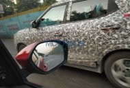 Base variant of the Mahindra S201 with steel wheels spotted in Mumbai
