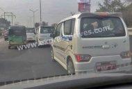 Multiple units of Suzuki Wagon R EV spied on test, not India-bound