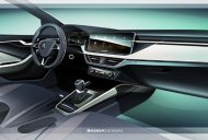 Skoda Scala interior sketch reveals an understated design