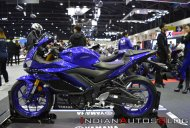 India-bound 2019 Yamaha YZF-R3 at the Thai Motor Expo - Live