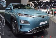 India-bound Hyundai Kona Electric at the 2018 Thai Motor Expo - Live
