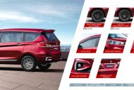 2018 Maruti Ertiga official accessories list revealed [Update]