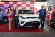 India-made Mahindra KUV100 launched in Taiwan