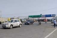 Mahindra S201 (Vitara Brezza rival) spotted on test on a highway