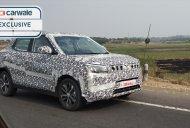 Mahindra S201 (Vitara Brezza rival) spotted testing on the Nashik highway