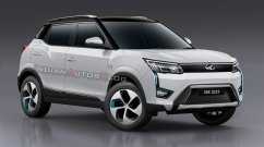 Mahindra XUV300 Electric - IAB Rendering