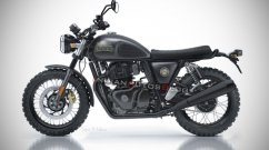 Royal Enfield 650 imagined as a Scrambler in this IAB render