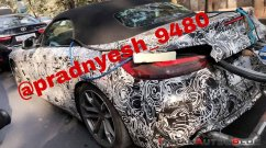 2019 BMW Z4 spied undergoing emission testing in India