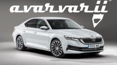 Bolder, more emotive 2020 Skoda Octavia rendered
