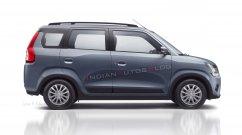 7-seat Suzuki WagonR MPV (Datsun GO+ rival) - IAB Rendering