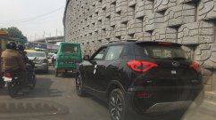 Mahindra XUV300 spotted heading to a dealer ahead of launch this week