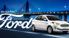 Ford Aspire CNG launched, priced from INR 6.27 lakh