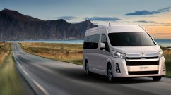 Possibly India-bound sixth-gen Toyota Hiace officially unveiled